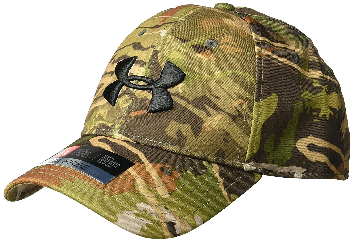 Under Armour Men's Camo Cap 2.0, Realtree Edge (991)/Black, One Size Under Armour Accessories 1300472
