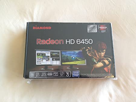 Amazon Com Diamond Amd Radeon 6450pe31g Hd 6450 Pcie 1gb Gddr3 Video Graphics Card Electronics