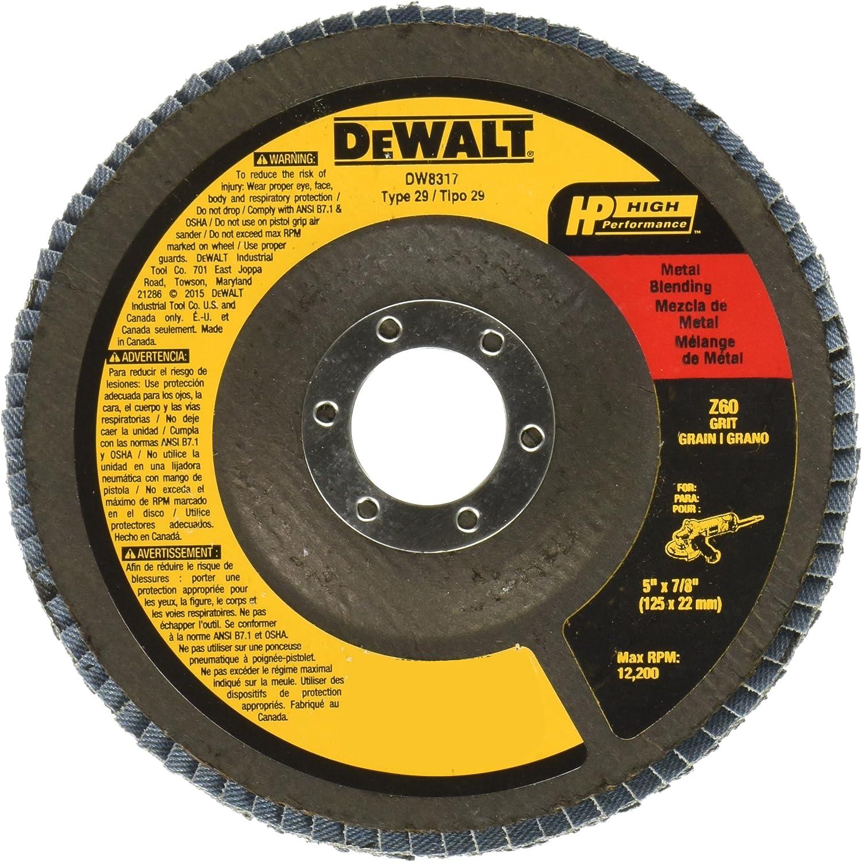 """5/"""" Zirconia Resin Fiber Disc 24 Grit 5 inch Grinding /& Sanding Discs 200 Pack"""