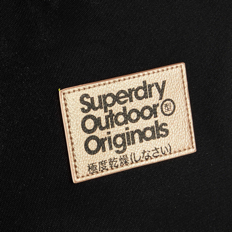 Superdry Colour Change Montana Women/'s Backpack Black 30,5x46x13,5 centimeters W x H x L