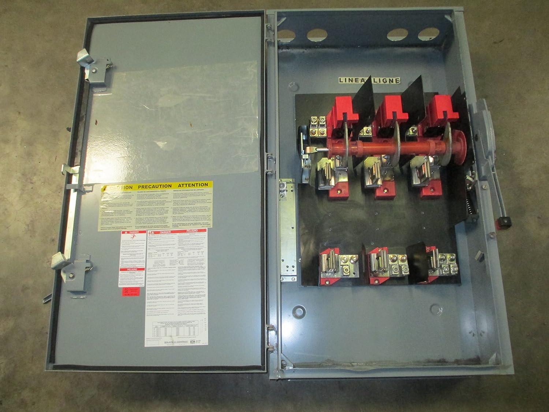 square d h366awk safety switch, 3r, 12 nema enclosure 30 amp fused disconnect wiring diagram square d qo 60 amp 240 volt 7 4 kw non