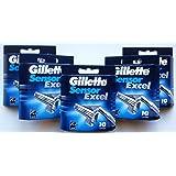 Gillette Sensor Excel Blade Refill Cartridges 50-Count