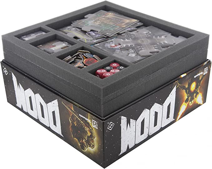 Feldherr Foam Tray Value Set for Doom The Board Game: Amazon.es: Juguetes y juegos