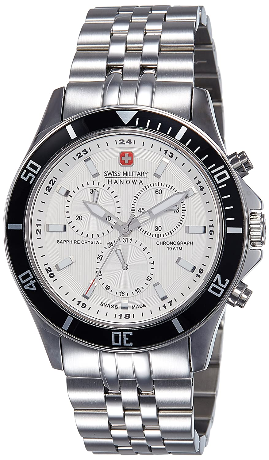 Amazon.com: Swiss Military Mens Flagship Watch 6-5183.04.001.07: Swiss Military Hanowa: Watches