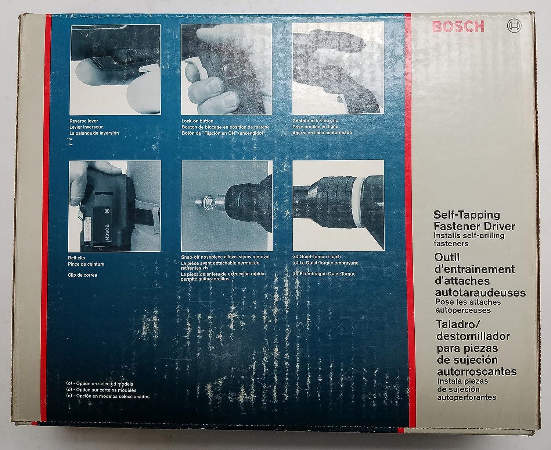 Bosch 1422VSRQ Self-Tapping Fastener Driver 4.8 amp 0-2, 500 rpm ...