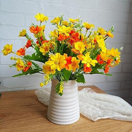 Flores falsas El ramo de lavanda Juan conjunto de ollas Muebles para el hogar decoración de