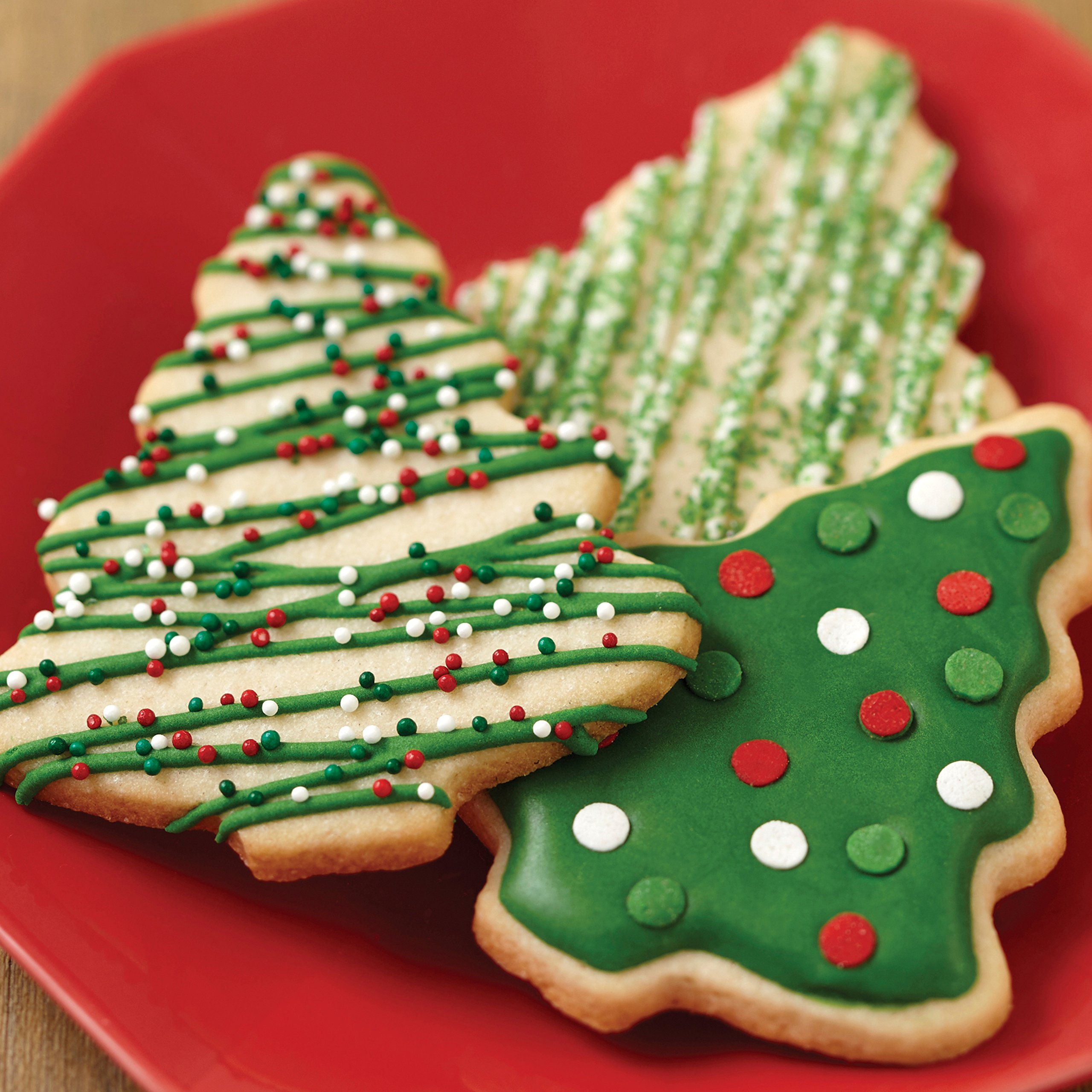 Wilton 2109-8429 Red and Green Holiday Cookie Decorating Icing, Multipack of 6, Assorted by Wilton (Image #9)