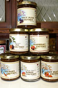 Mango Chutney- 2 PACK Virginia Chutney Company Authentic Major Grey's Mango All Natural Chutney-Mango, Sugar, Apple Cider Vinegar, Ginger, Salt, Raisins, Garlic, Cloves, Lime Juice, Cinnamon
