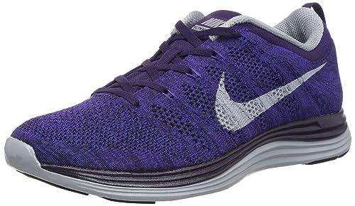 buy online c66cd 37f1f Nike Men s Flyknit Lunar1, Grand Purple WLF Grey-CRT PRPL, ...