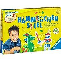 Ravensburger 21422 - Gioco educativo con martello e blocchetti in legno colorati
