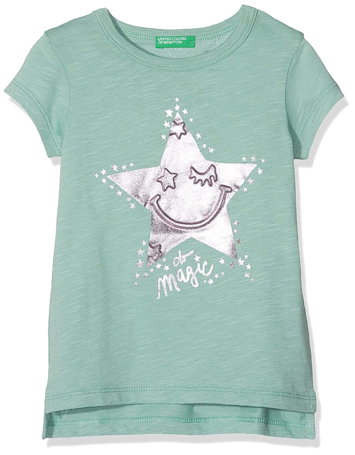 United Colors of Benetton T-Shirt Bambina 3BR4C1P0P