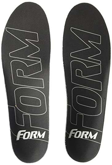 c792ce970d FORM Premium Insoles Ultra-Thin-Custom Form-Fitting Insole Shoe Inserts,  Black