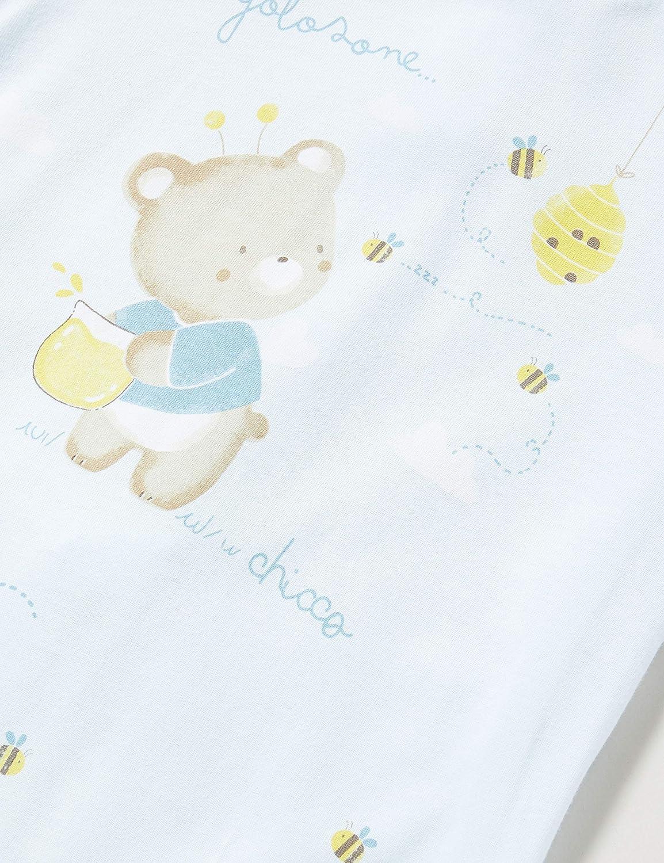 Chicco Tutina Bimbo con Apertura Sul Patello Mono Corto para Beb/és