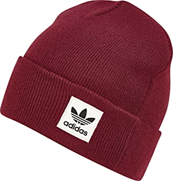 6ba3da5cafb7bc adidas Damen High Mütze Collegiate Burgundy, OSFW: Amazon.de: Sport ...