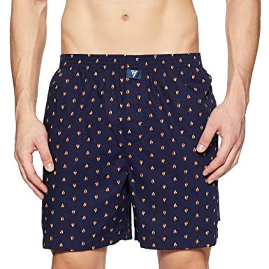 ac58a1d3241 Van Heusen Men s Cotton Boxer Shorts (Colors May Vary)  Amazon.in  Clothing    Accessories