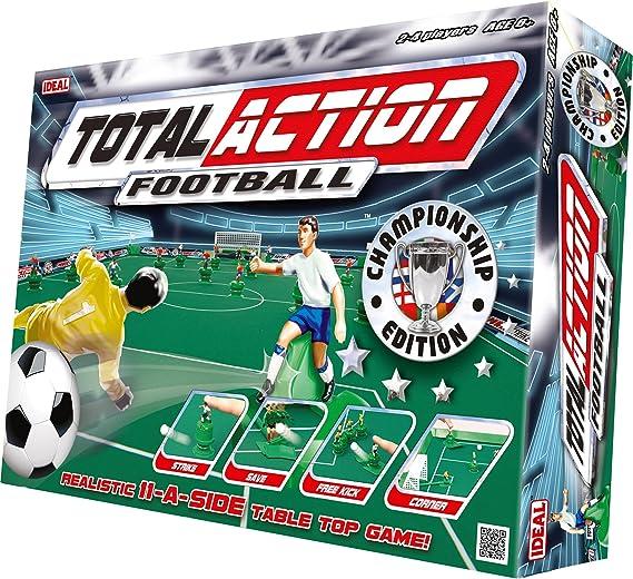 Toy Brokers 9360 Total Action Football - Juego de fútbol de Mesa (71 x 95 cm, en inglés): Amazon.es: Juguetes y juegos