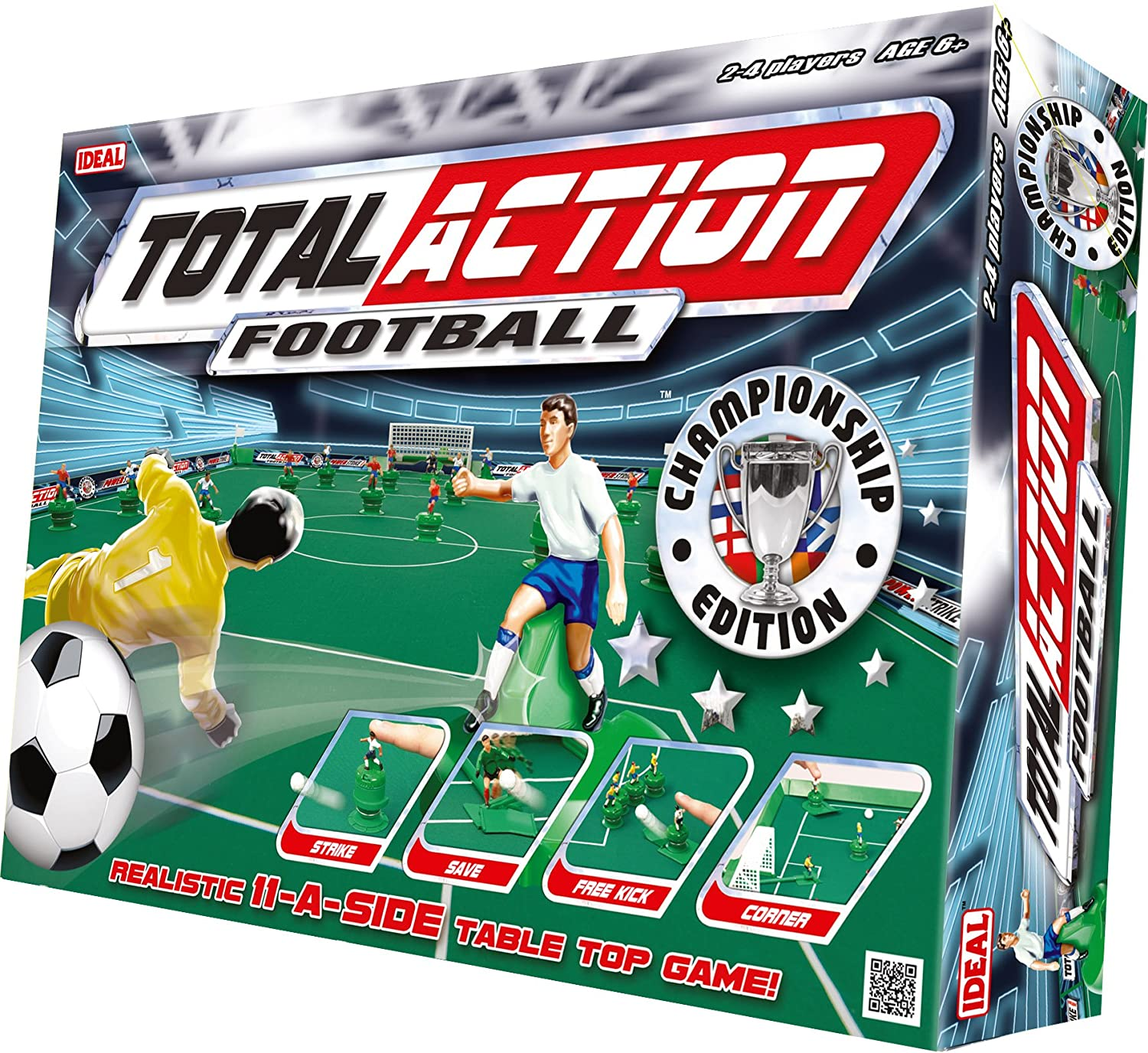John Adams Total Action Football Game Amazon Toys & Games