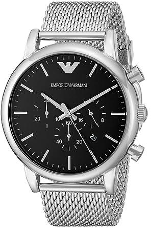 watch emporio armani luigi ar1808 men´s black amazon co uk watches watch emporio armani luigi ar1808 men´s black