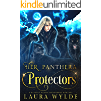 Her Panthera Protectors: A Reverse Harem Paranormal Romance (Panther Shifters of the Amazon Book 1)