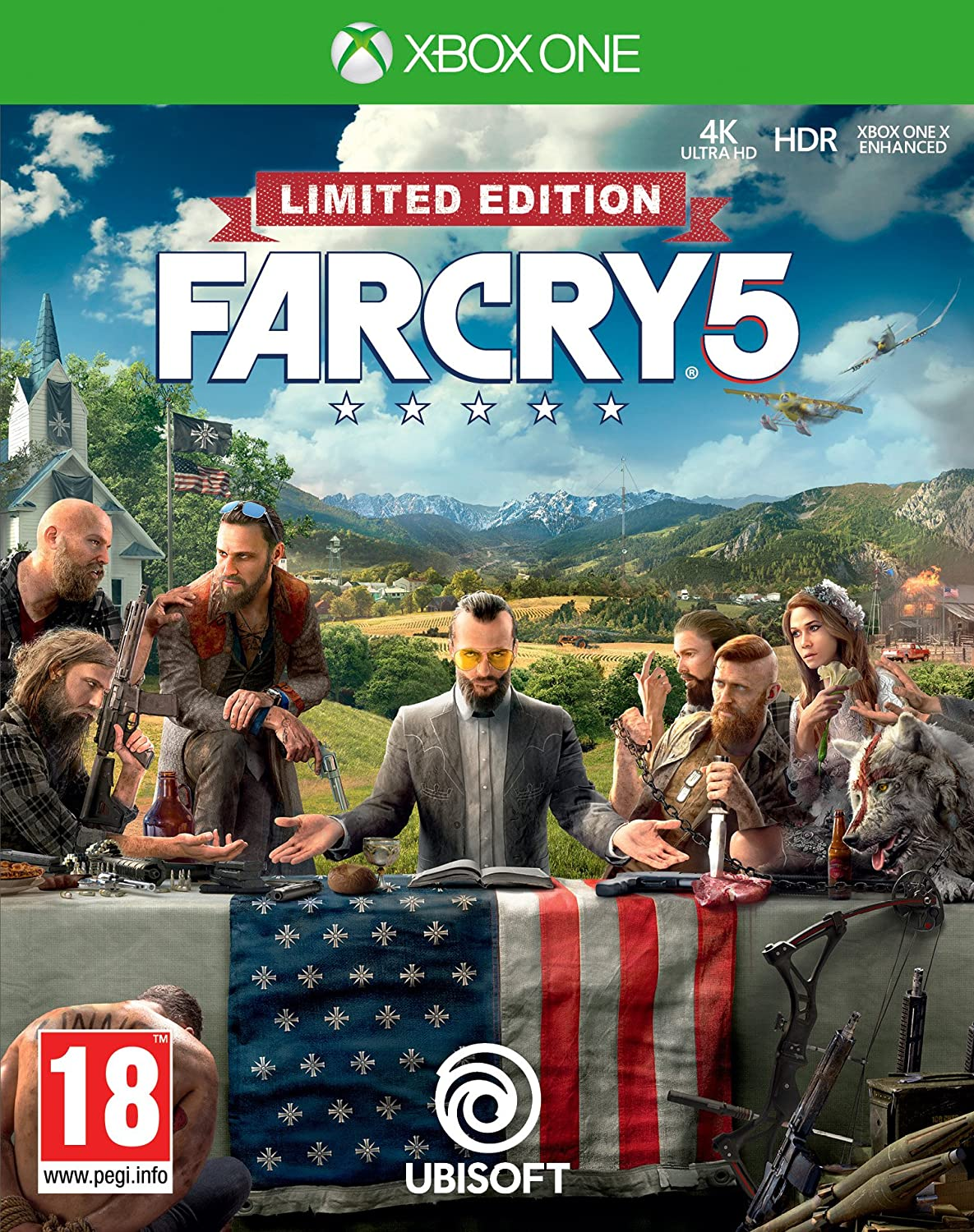 Far Cry 5 - Edición Limited (Edición Exclusiva Amazon): Amazon.es: Videojuegos