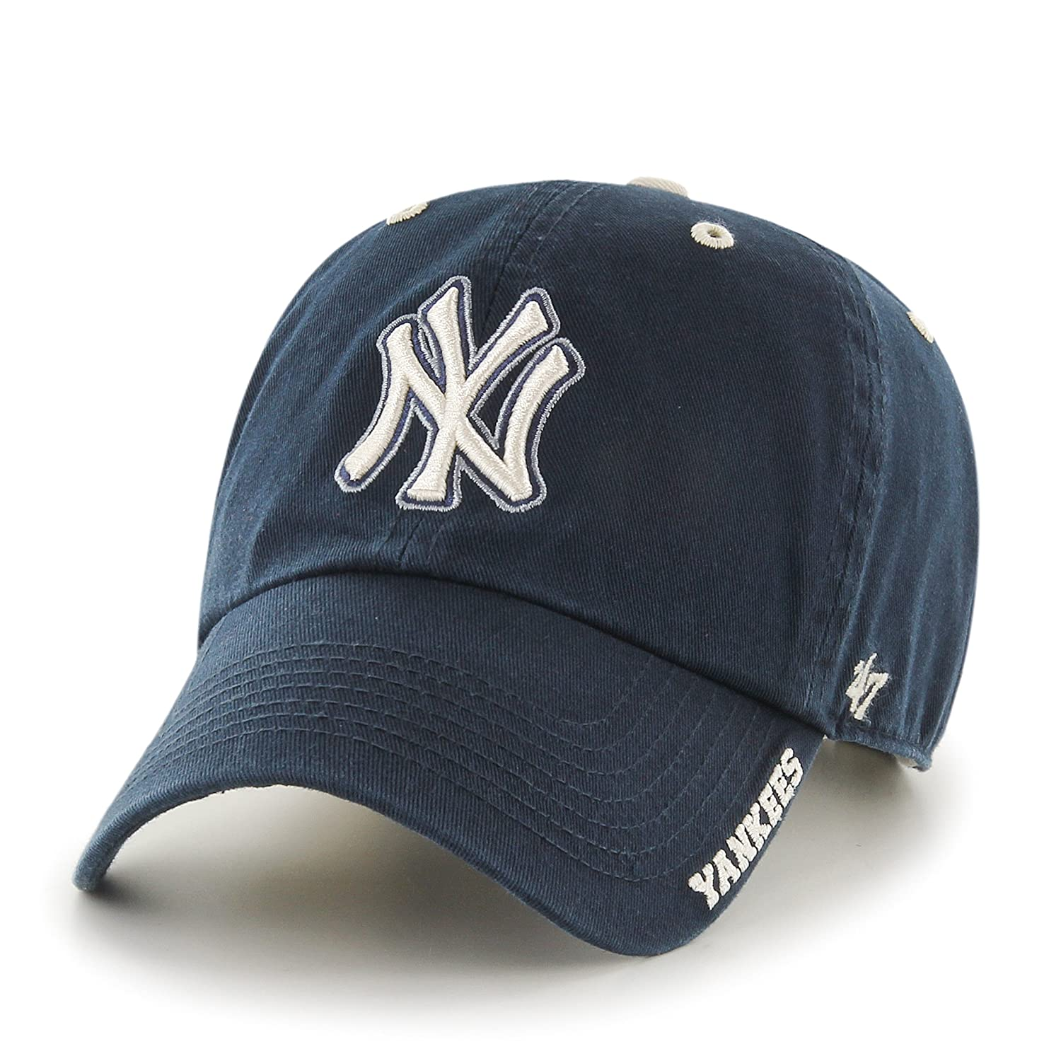 brand new 33a1d d9eaa MLB New York Yankees Men s  47 Brand Ice Clean Up Cap, Navy, One-Size, Caps  - Amazon Canada