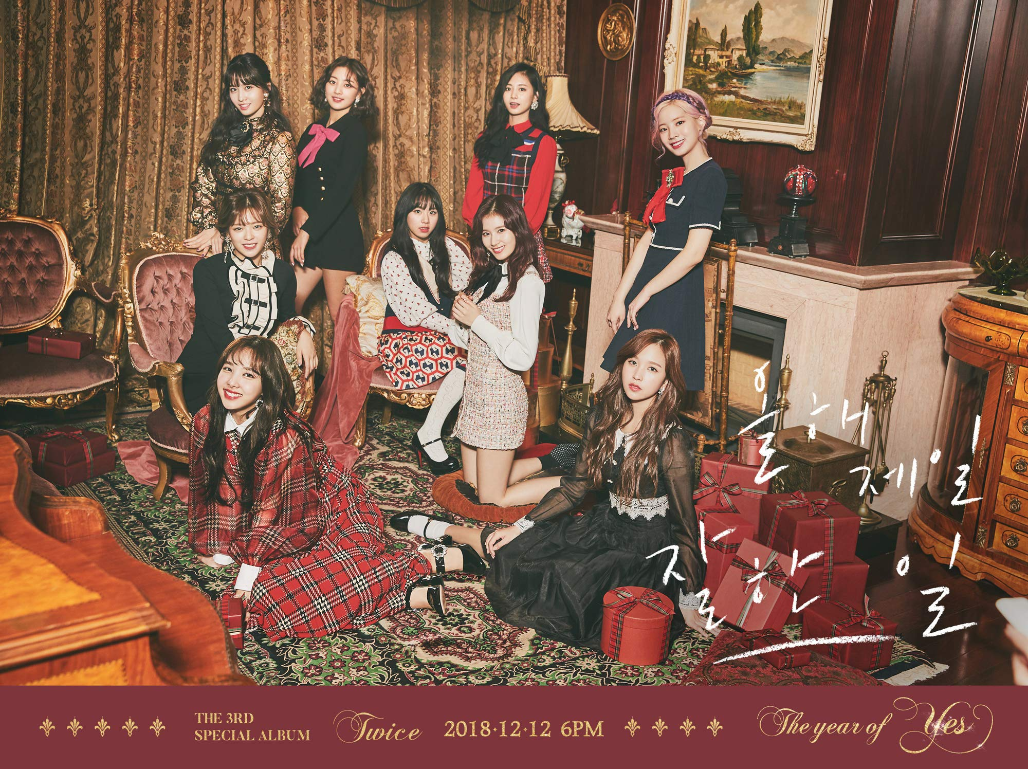 CD : Twice - 3rd Special Album (the Year Of Yes) (Photo Book, Photos, Stickers, Asia - Import)