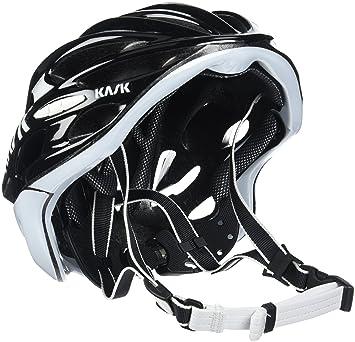 Kask - Mojito 16 - Casco para bicicleta, Adultos , Negro/Blanco, M