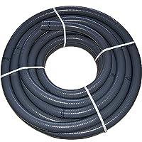 PVC Flexschlauch, Klebeschlauch, Teichschlauch, Poolflex, Aussendurchmesser 50mm, 10m Rollen für Schwimmbad, Pool, Teich
