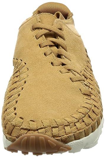 cheaper 8762e 0108c Nike Men s Air Footscape Woven Chukka, Flax Flax-Sail-Gum Med Brown, 9 M US   Amazon.ca  Shoes   Handbags