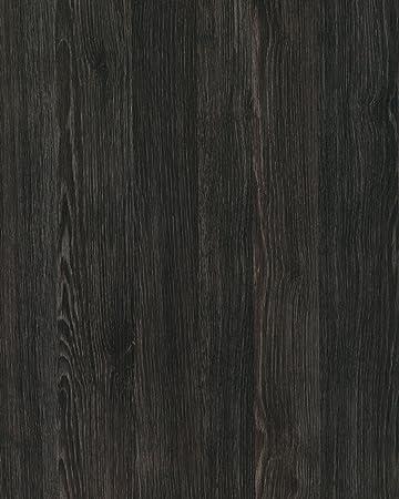 DIY Kitchen Worktop Umbra Wood Vinyl Cover Self Adhesive Sticky Back Wrap Black