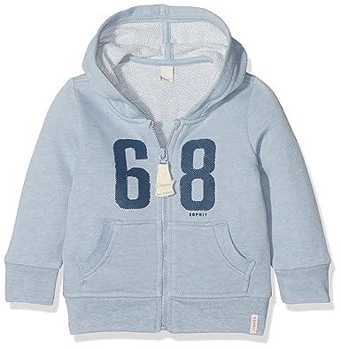 b741008d7 ESPRIT Kids Baby Boys  Sweatshirt ESS (Light Heather Blue 406)