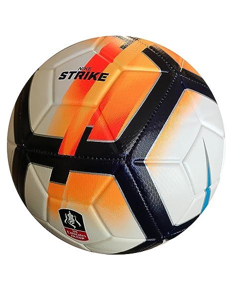Nike Strike FA Cup Balón de fútbol tamaño 5: Amazon.es: Deportes y ...