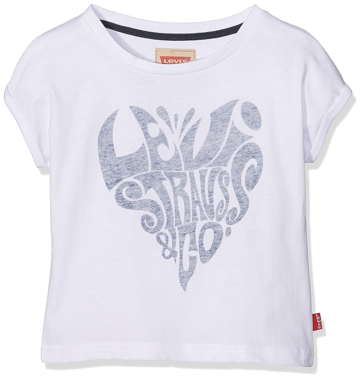 Levis Kids SS tee Alexa, Camiseta para Niños, Blanco (White 01) 8 años: Amazon.es: Ropa y accesorios