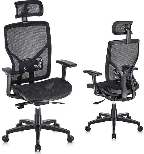 SUNNOW Ergonomic Office Chair Computer Mesh Chair