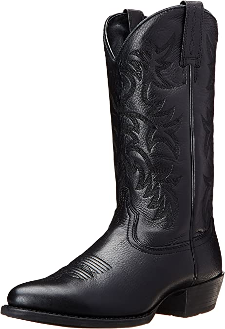 Ariat Men's Heritage R Toe Western Cowboy Boot
