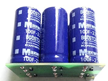 Supercapacitor Ultracapacitor module 83F 16 2 volts: Amazon ca