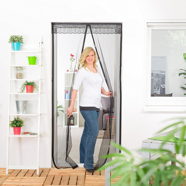 1/pieza 101410201/de VH HECHT International magn/ético L/áminas cortina 100/x 220/cm en color blanco con cenefa