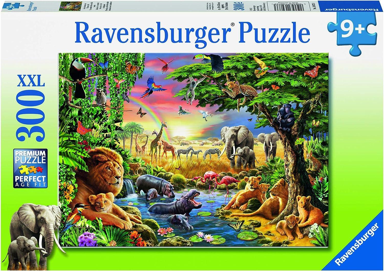 Schmusende Raubkatzen Ravensburger Kinderpuzzle 12721 200 Teile