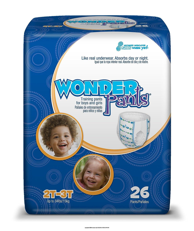 Amazon.com: WonderPants Training Pants MD 2T-3T, 26EA/PK 4PK/CS: Health & Personal Care