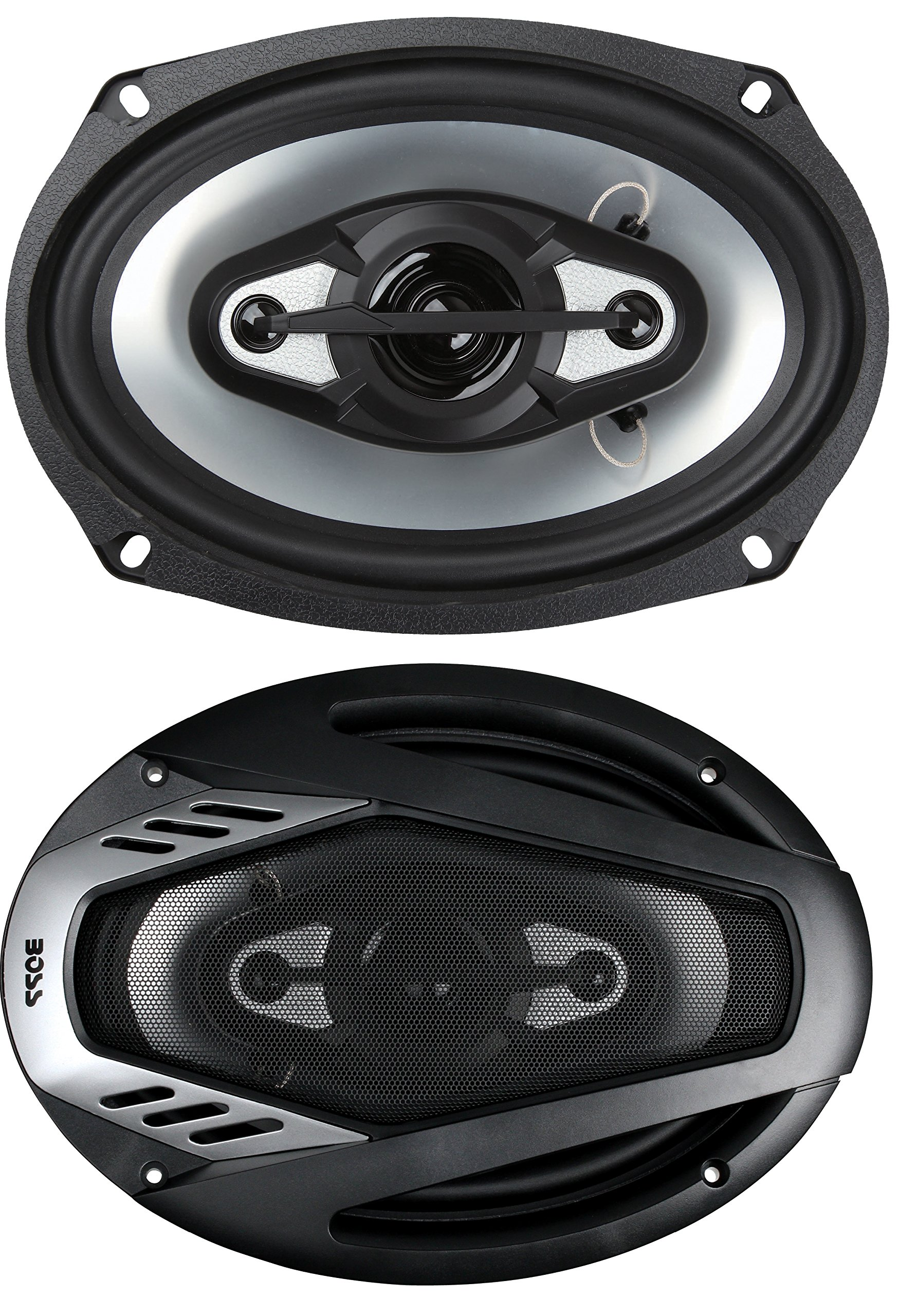 BOSS Audio NX694 800 Watt (Per Pair), 6 x 9 Inch, Full Range, 4 Way Car Speakers (Sold in Pairs)