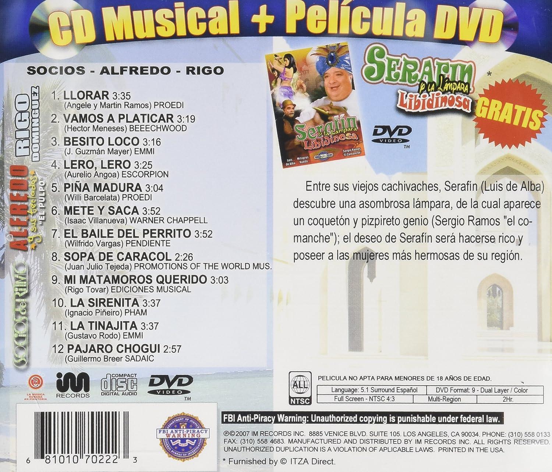 Socios Del Ritmo, Alfredo El Pulpo - Exitos De / Serafin Y La Lampara Libidinosa - Amazon.com Music