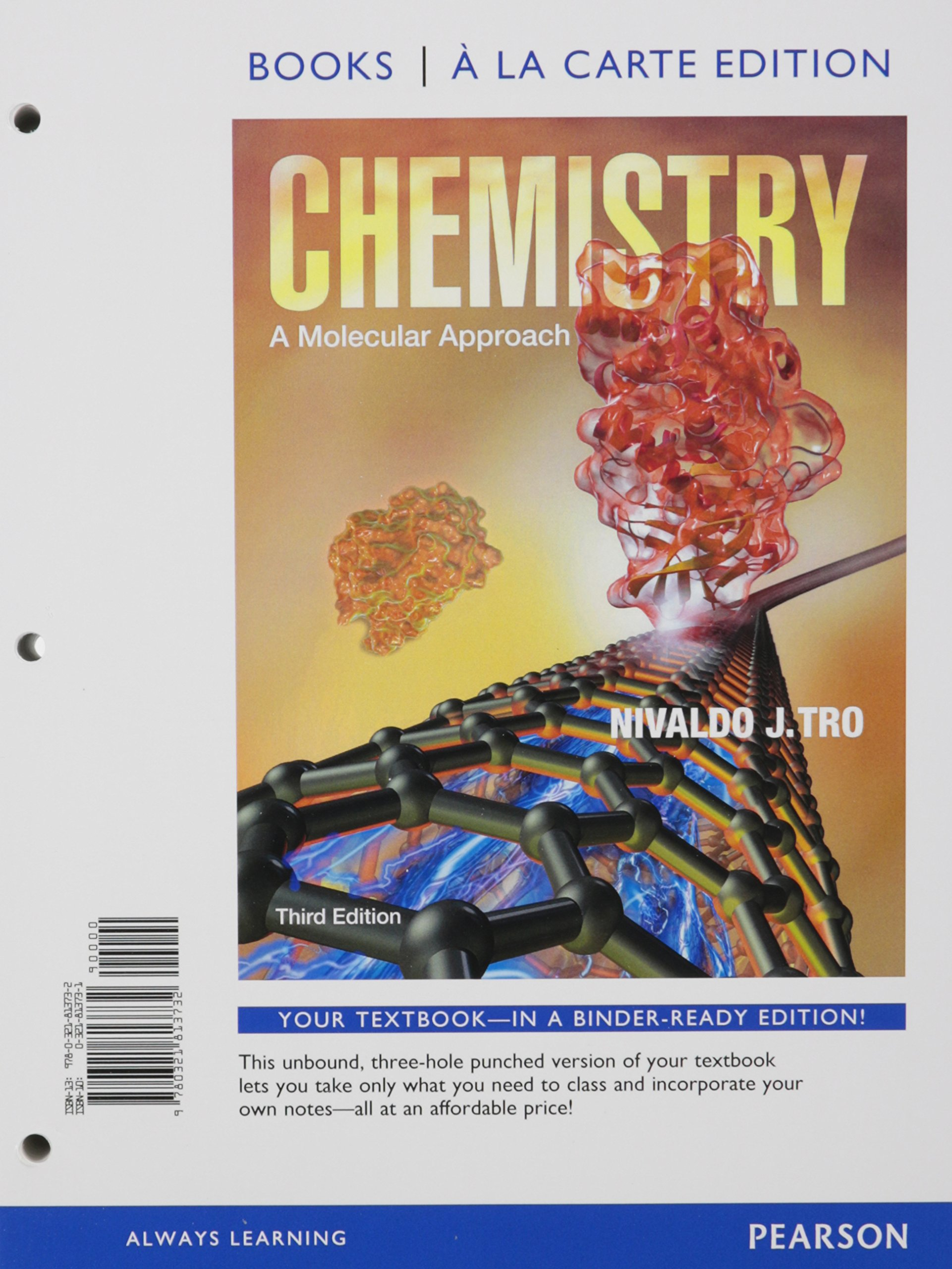 Chemistry: A Molecular Approach, Books a la Carte Plus Mastering Chemistry  with eText -- Access Card Package (3rd Edition): Nivaldo J. Tro:  9780321813619: ...