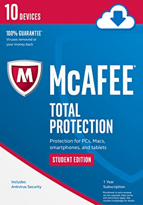 McAfee Total Protection 10 Device Student Edition [Online Code]