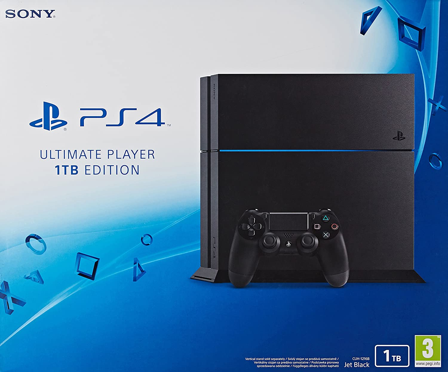 Sony Playstation 4 negro 1TB Ultimate Player Edition: Amazon.es ...