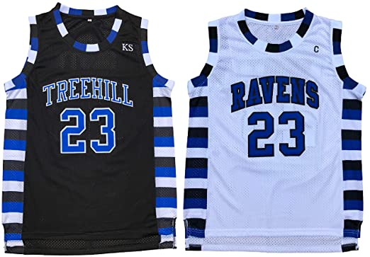 Nathan Scott  23 One Tree Hill Ravens Throwback Basketball Jersey  Embroidery S-XXL ( dff35b88b