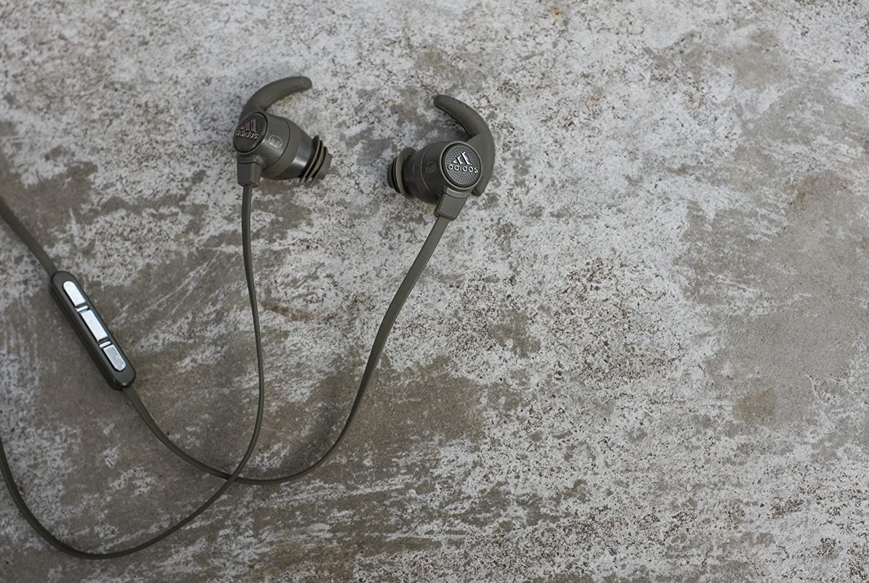 Amazon.com: Monster 137020-00 Adidas Performance Response Earbud Headphones, Olive Green: Home Audio & Theater