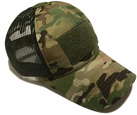 5ebb66200 Empire Tactical USA The Authentic Multicam Mesh Operator Ball Cap/Hat (Made  in The USA)