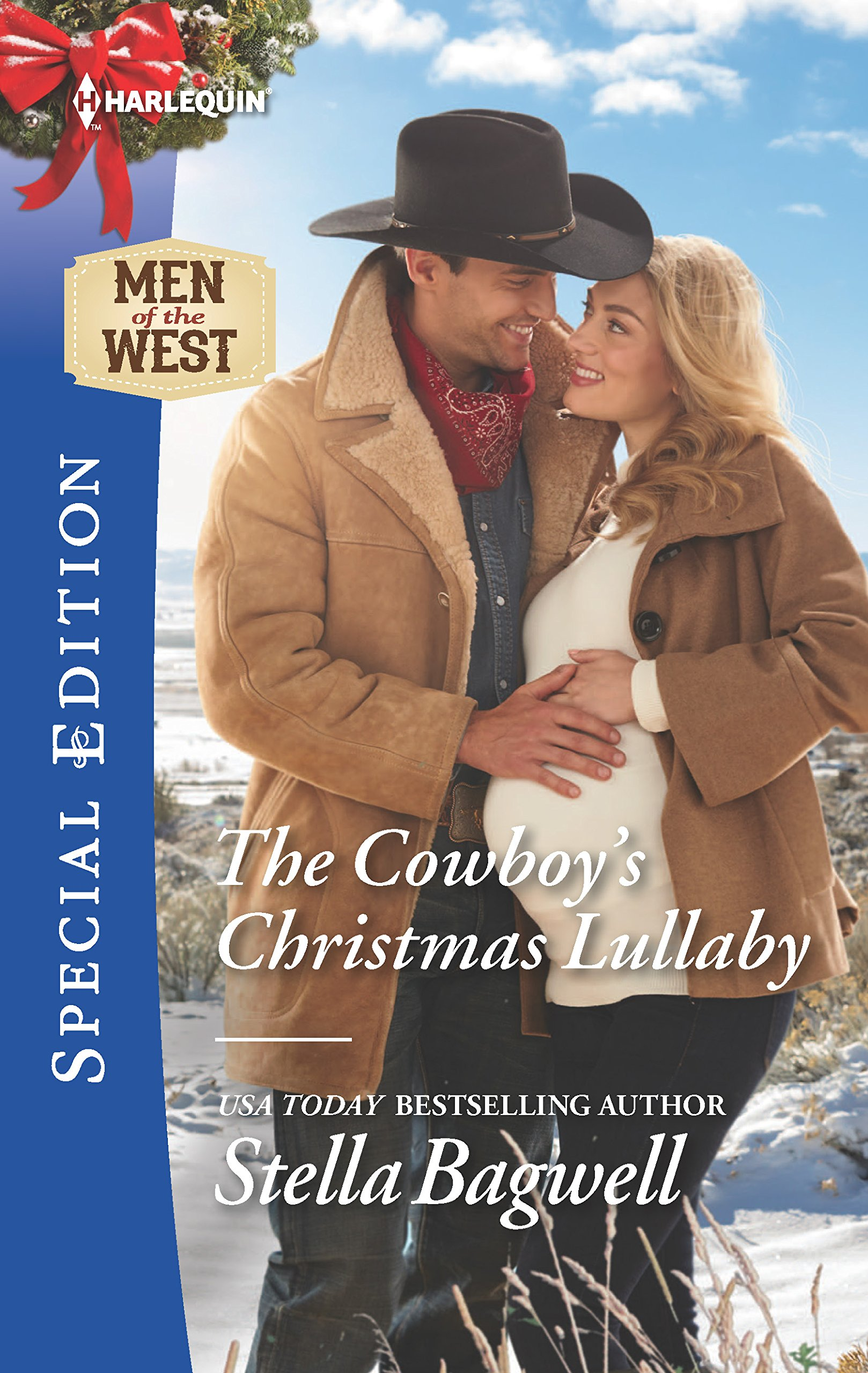 Download The Cowboy's Christmas Lullaby (Men of the West) PDF