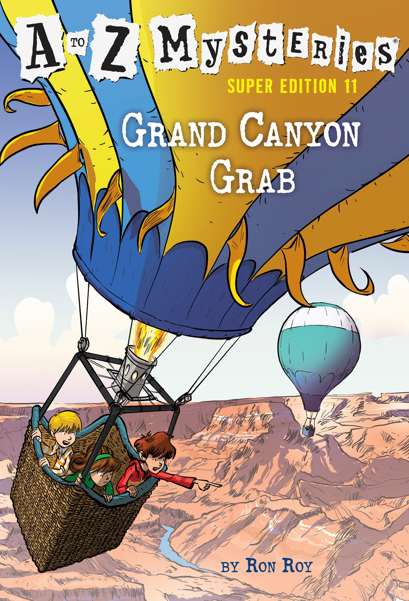 A to Z Mysteries Super Edition #11: Grand Canyon Grab: Amazon ...