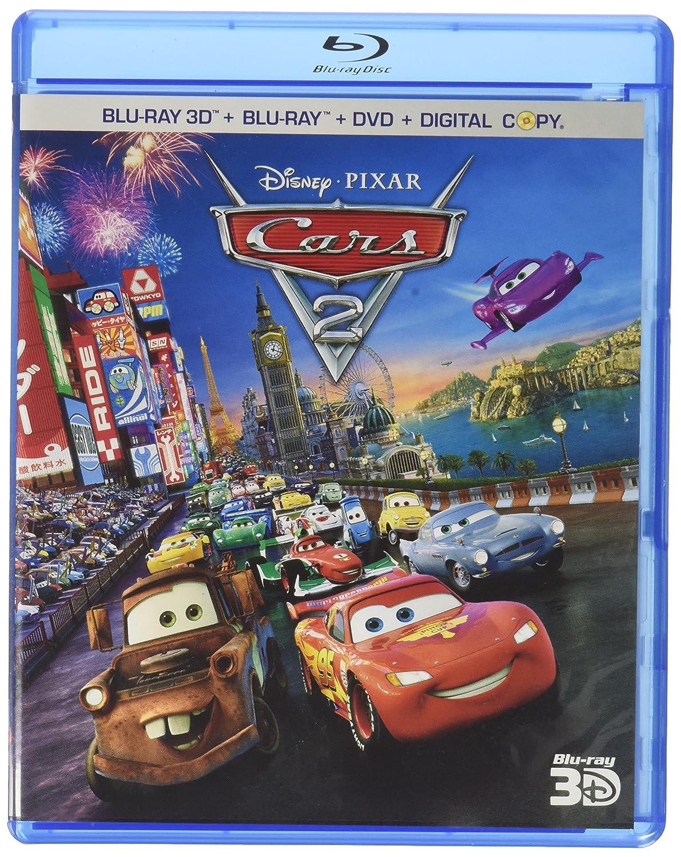 Amazon Com Cars 2 Five Disc Combo Blu Ray 3d Blu Ray Dvd